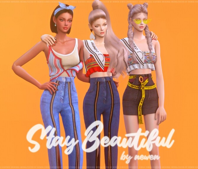 Stay Beautiful at NEWEN image 315 670x570 Sims 4 Updates