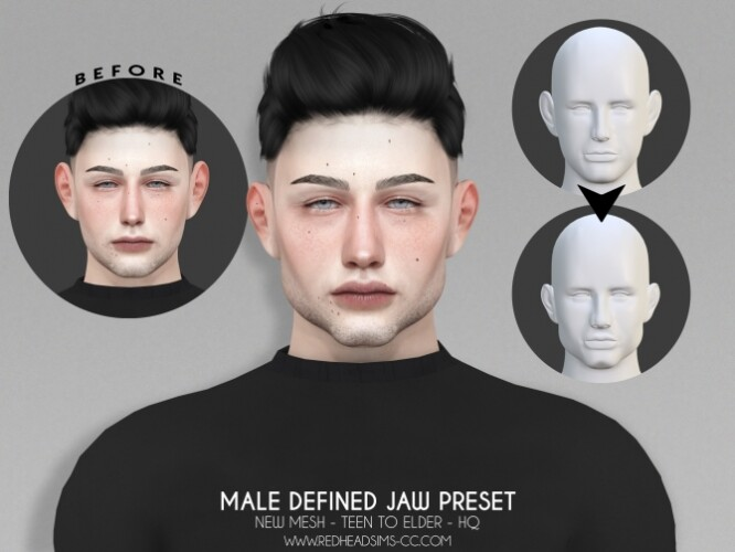 MALE DEFINED JAW PRESET