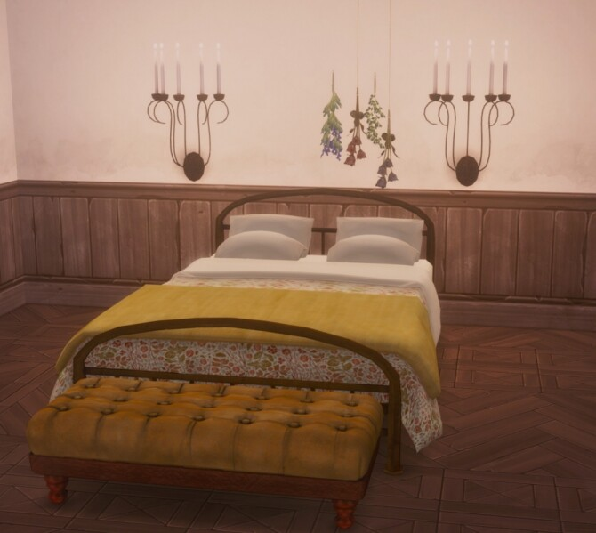 Bedroom mini set by Pocci at Garden Breeze Sims 4 image 3183 670x599 Sims 4 Updates