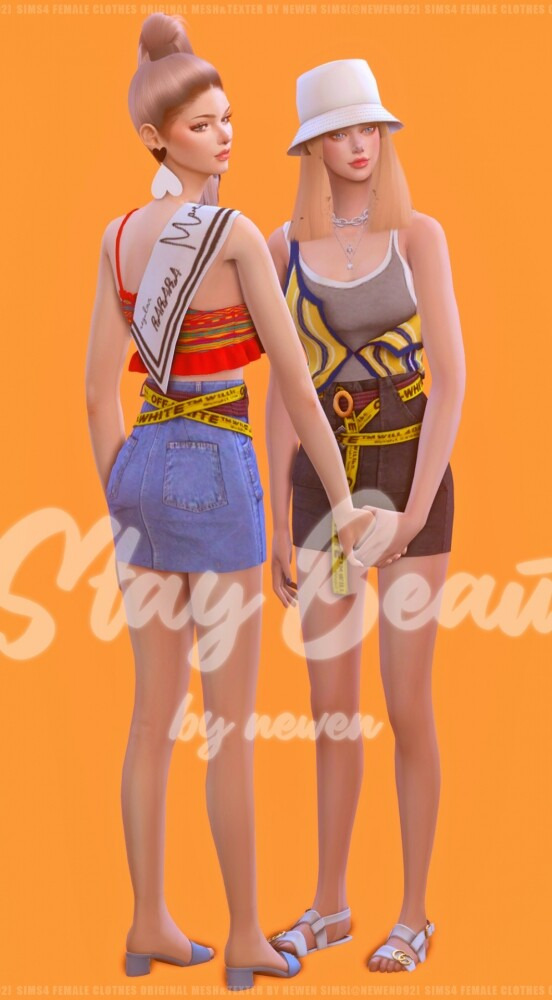 Stay Beautiful at NEWEN image 320 552x1000 Sims 4 Updates