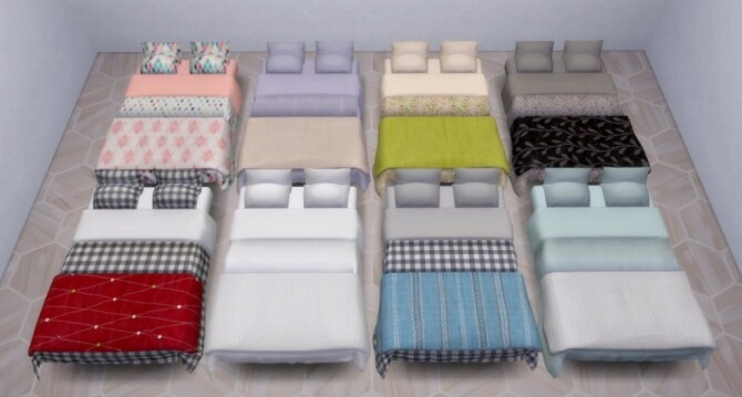 Bedroom mini set by Pocci at Garden Breeze Sims 4 image 3225 670x359 Sims 4 Updates