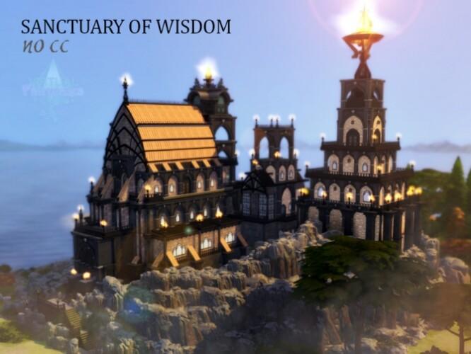 Sanctuary of Wisdom by VirtualFairytales