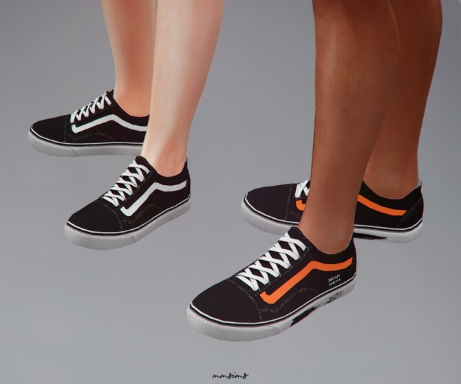 Old Skool Sneakers at MMSIMS image 326 670x558 Sims 4 Updates