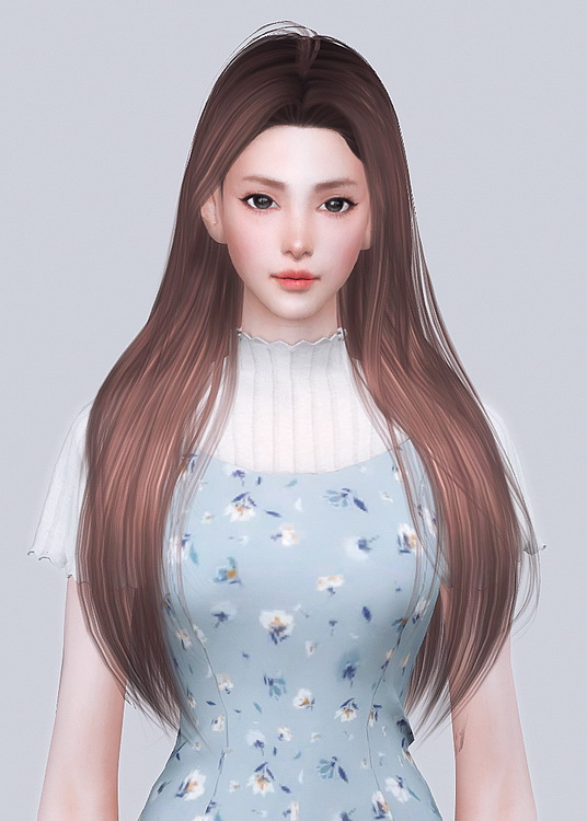 PEONY HAIR at Obsidian Sims image 3262 Sims 4 Updates