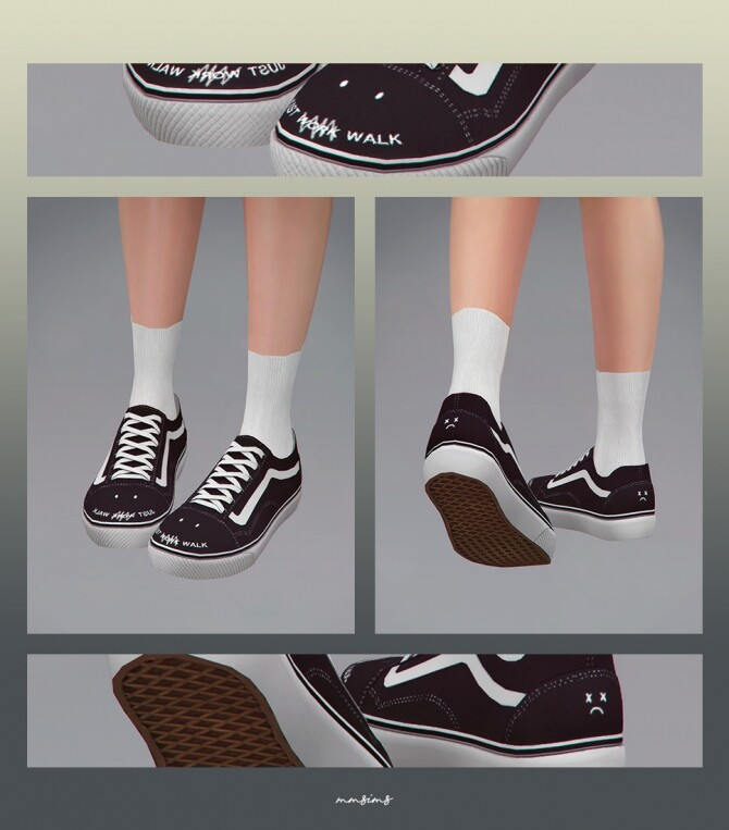 Old Skool Sneakers at MMSIMS image 328 670x763 Sims 4 Updates