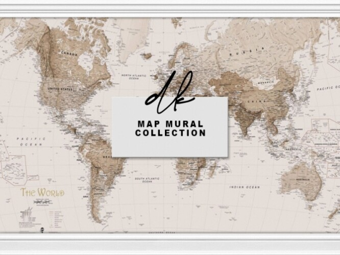 Map Mural Collection