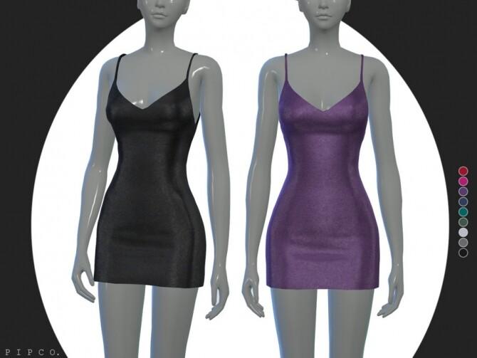 Sims 4 Chloe dress by Pipco at TSR