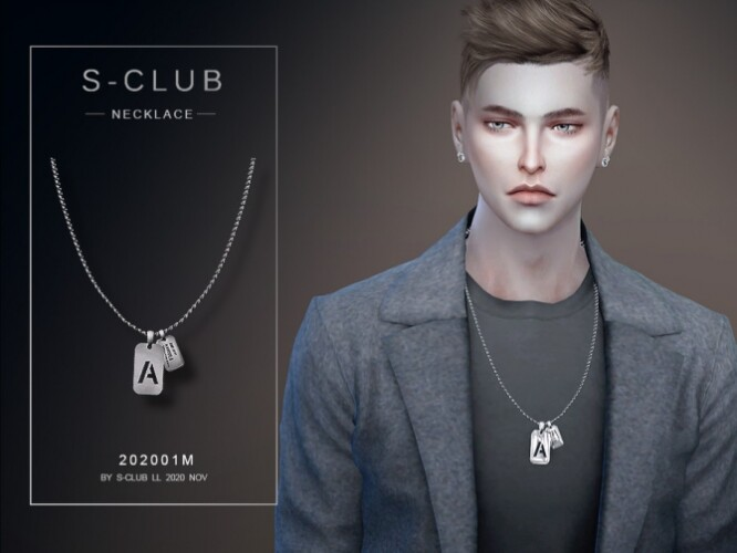 Necklace 202001M by S-Club LL