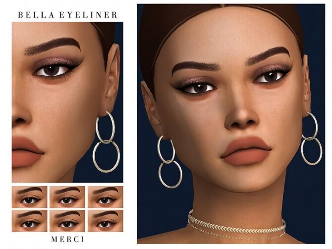Sims 4 Bella Eyeliner by Merci at TSR