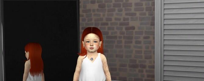 FERNANDA HAIR + KIDS AND TODDLER VERSION at REDHEADSIMS image 3372 670x266 Sims 4 Updates
