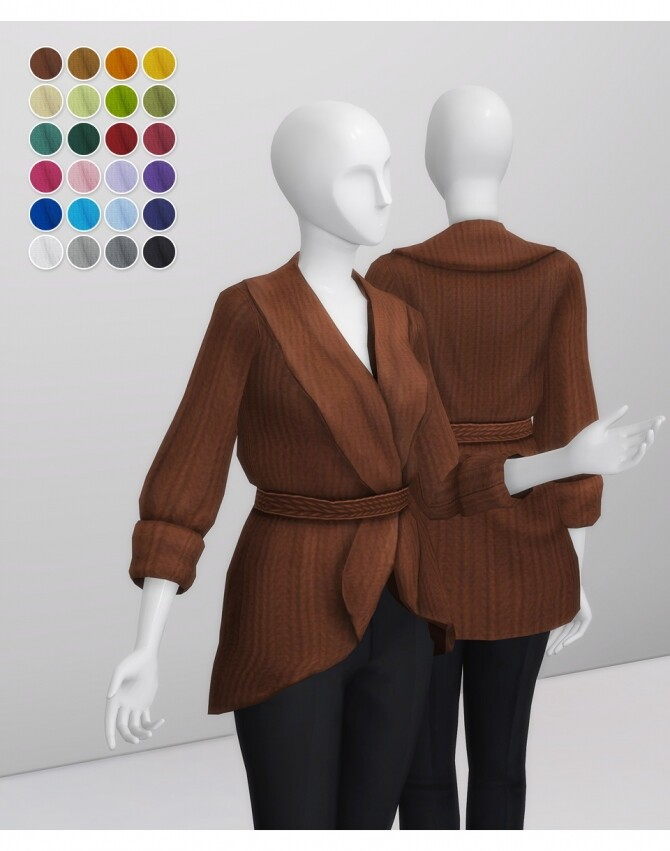 Basic Sweater IV at Rusty Nail image 3382 670x851 Sims 4 Updates