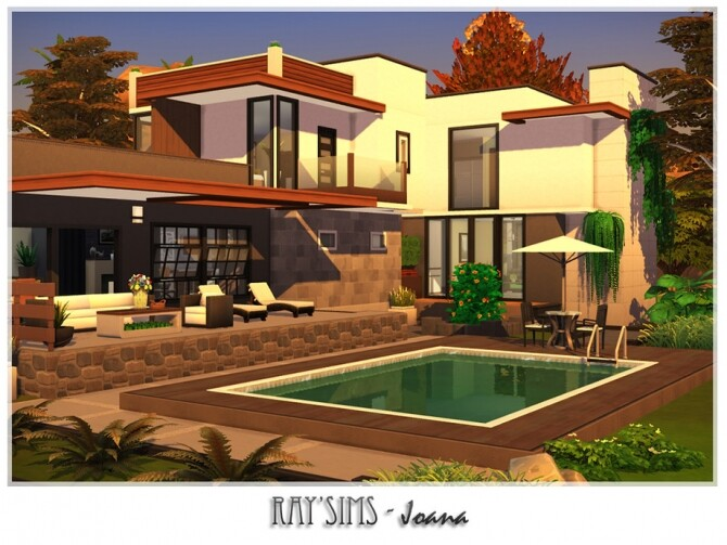 Sims 4 Joana house by Ray Sims at TSR