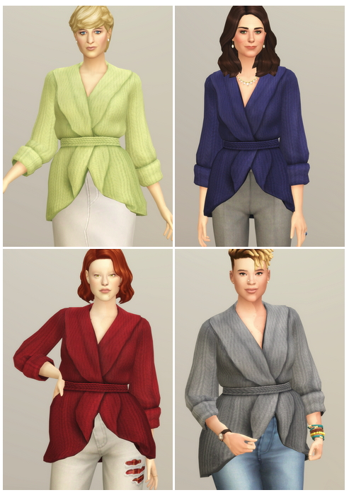 Basic Sweater IV at Rusty Nail image 3414 Sims 4 Updates