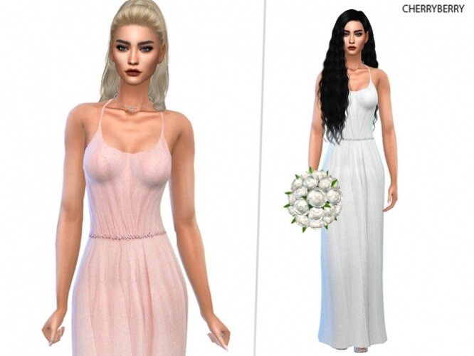 Anya Pastel Gown by CherryBerrySim