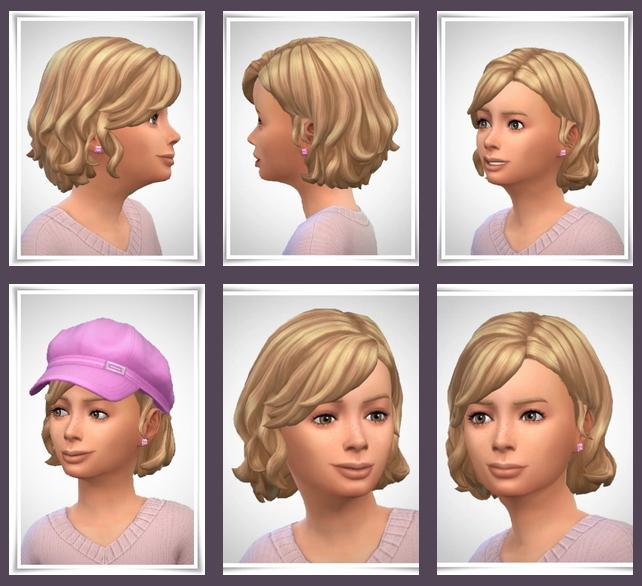 Sims 4 Sam Kids Hair at Birksches Sims Blog