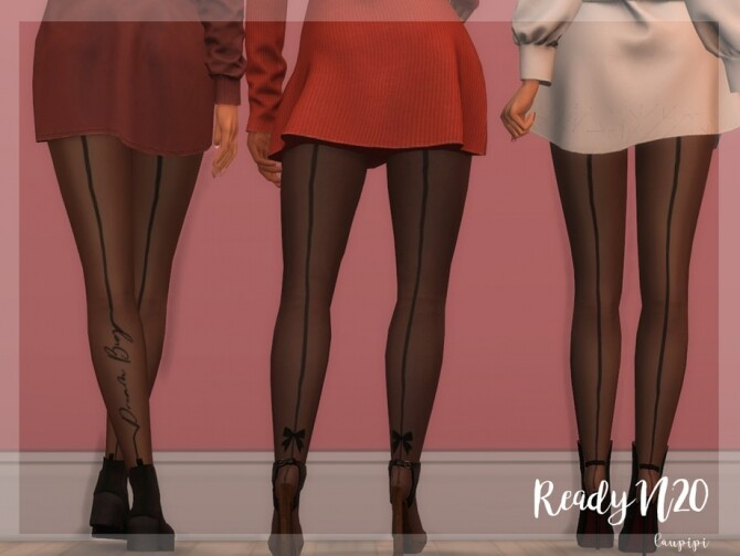 Sims 4 Line Tights AC372 by laupipi at TSR