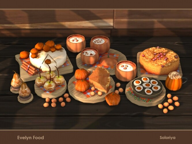 Evelyn Food by soloriya