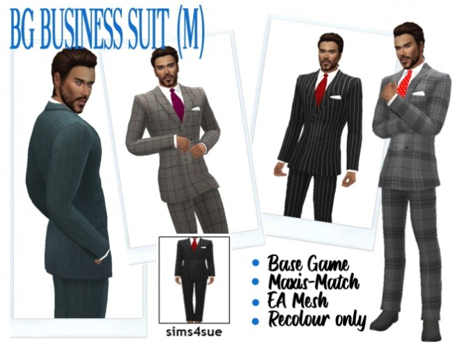 BG BUSINESS SUIT M
