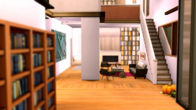 Sims 4 The Cullen house at RUSTIC SIMS