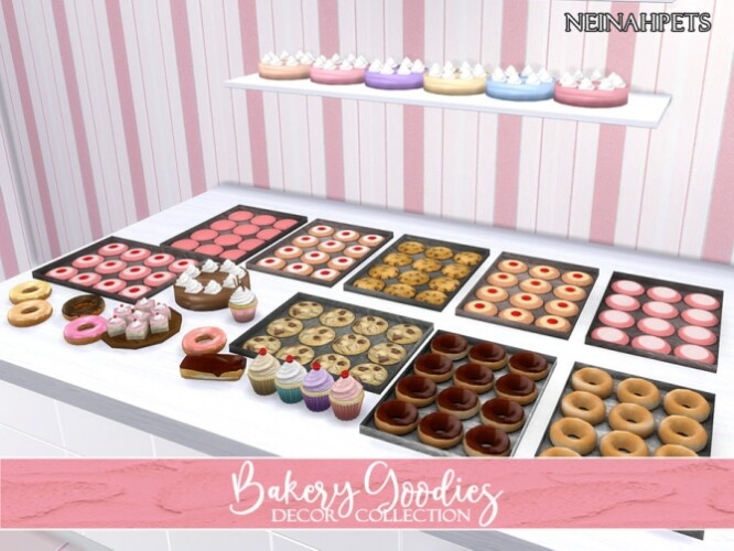 Bakery Goodies Decor Collection by neinahpets