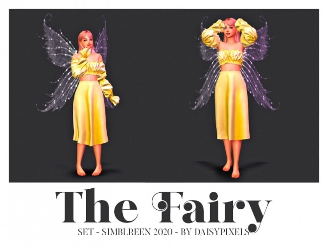 Sims 4 Simblreen 2020 Set at Daisy Pixels