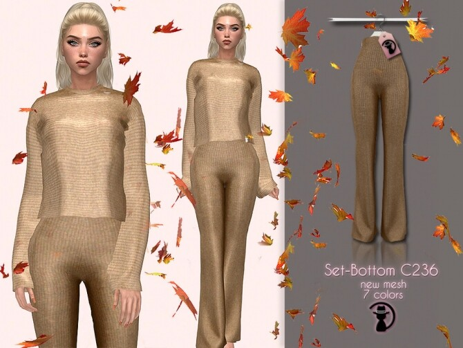 Sims 4 Set Bottom C236 by turksimmer at TSR