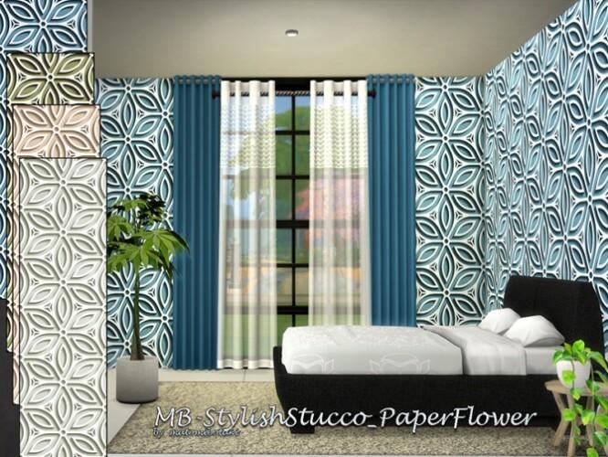 MB Stylish Stucco Paper Flower by matomibotaki