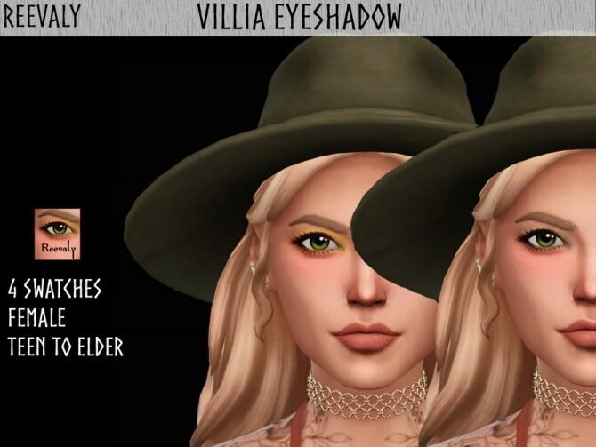 Sims 4 Villia Eyeshadow by Reevaly at TSR
