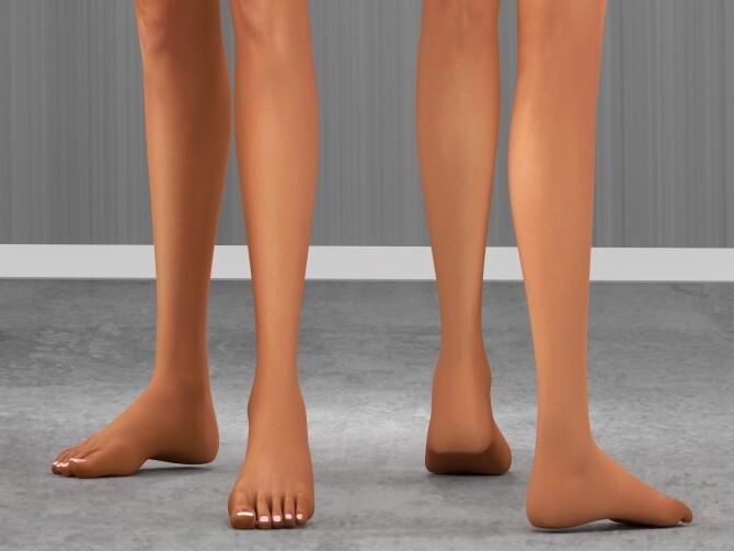 FEMALE DETAILED FOOT PACK at REDHEADSIMS image 420 670x503 Sims 4 Updates
