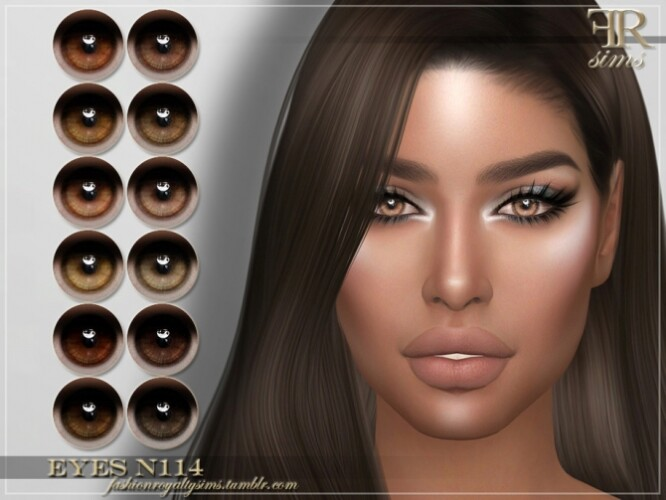 FRS Eyes N114 by FashionRoyaltySims