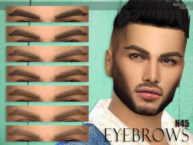 Eyebrows N45 by MagicHand