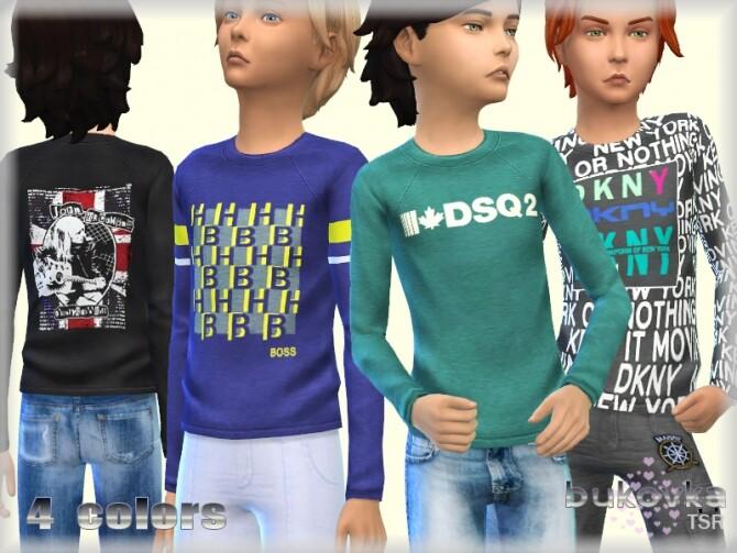Sims 4 Shirt Child by bukovka at TSR