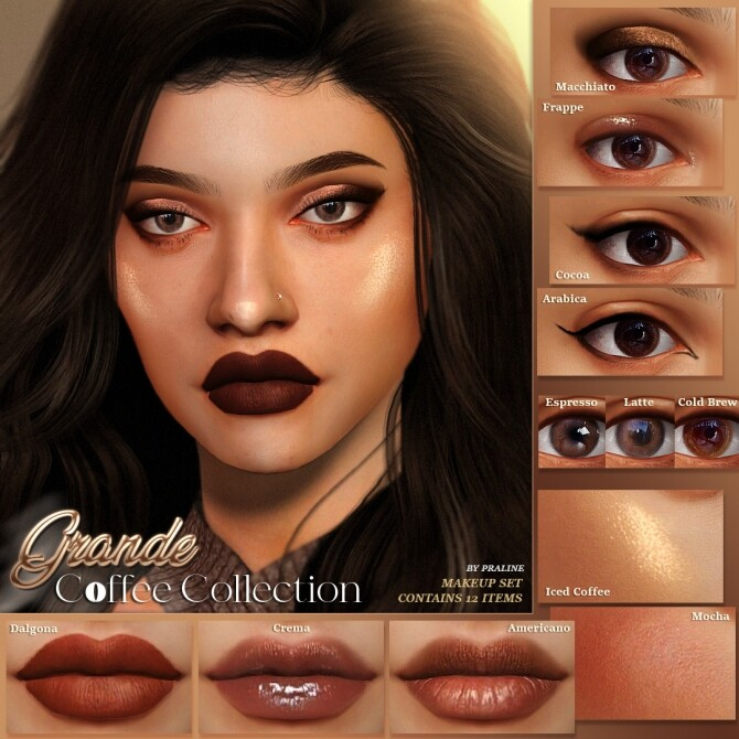 GRANDE Coffee Collection at Praline Sims image 448 670x670 Sims 4 Updates
