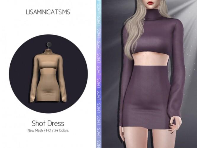 LMCS Shot Dress by Lisaminicatsims