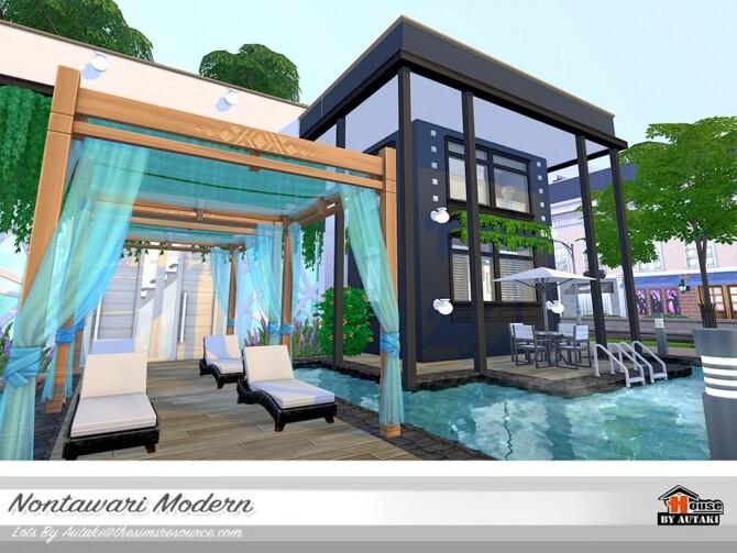 Nontawari Modern Villa by autaki at TSR image 473 670x503 Sims 4 Updates