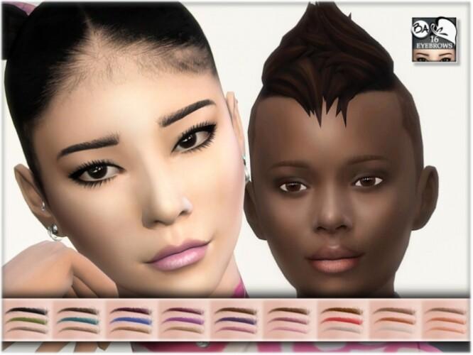 Eyebrows 16 by BAkalia