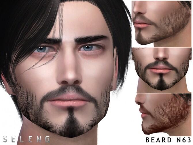 Beard N63 by Seleng at TSR image 494 670x503 Sims 4 Updates