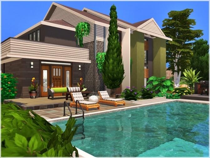 Sims 4 Mario house by Ray Sims at TSR
