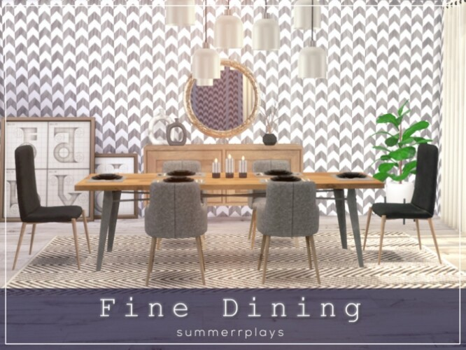 Fine Dining ROOM by Summerr Plays