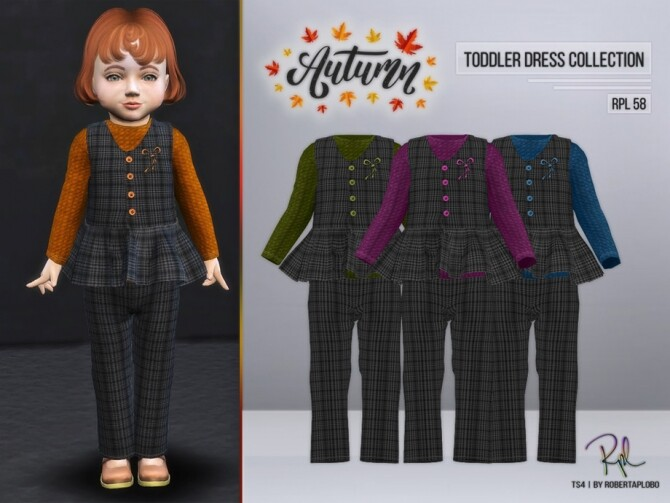 Sims 4 TODDLER Collection RPL58 by RobertaPLobo at TSR