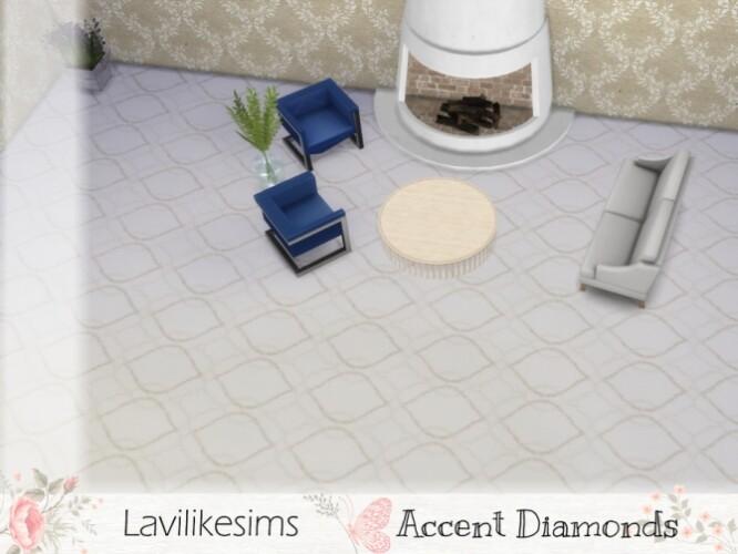 Accent Diamonds Carpet by lavilikesims