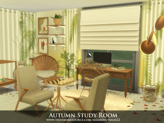 Autumn Study Room Created By  dasie2