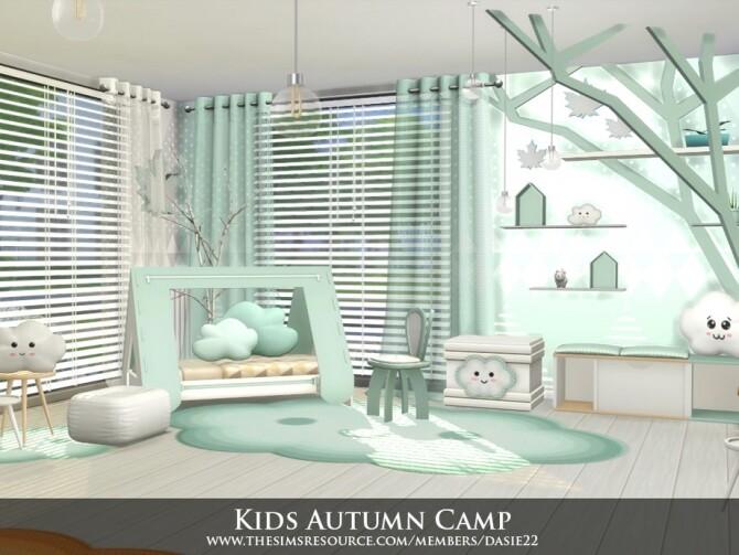 Sims 4 Kids Autumn Camp by dasie2 at TSR