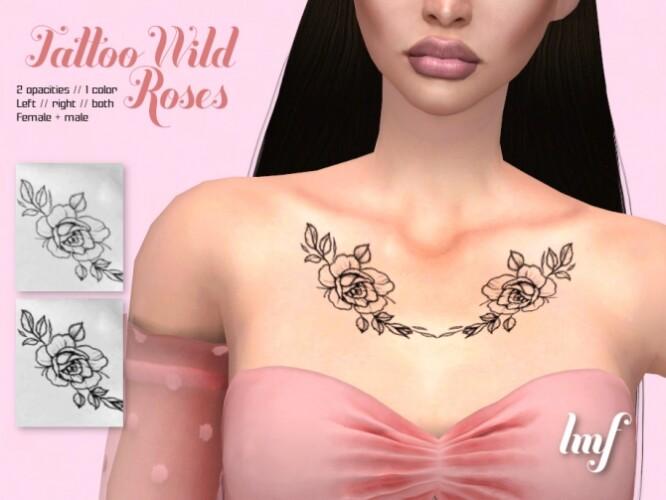 IMF Tattoo Wild Roses by IzzieMcFire