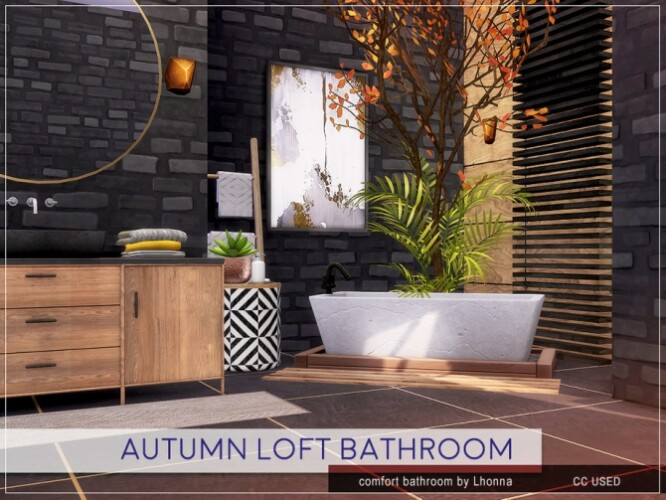 Autumn Loft Bathroom by Lhonna