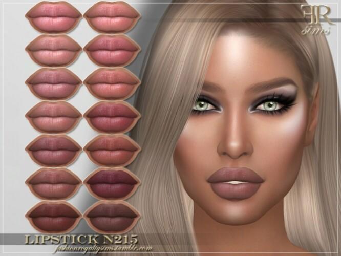 FRS Lipstick N215 by FashionRoyaltySims