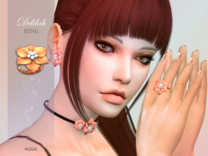 Delilah Ring by Suzue
