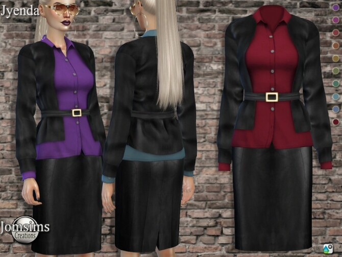 Jyenda outfit by  jomsims at TSR image 5710 670x503 Sims 4 Updates
