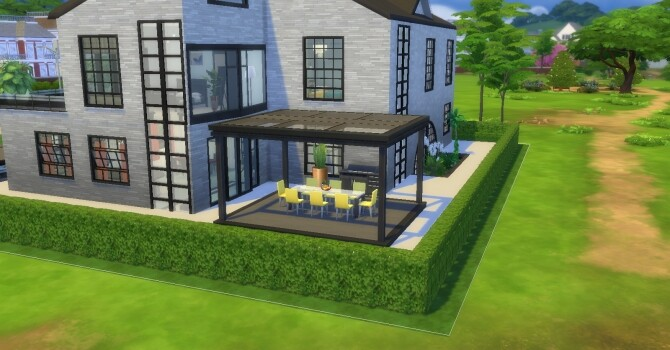 Sims 4 Grande Maison by ticakipica at L'UniverSims