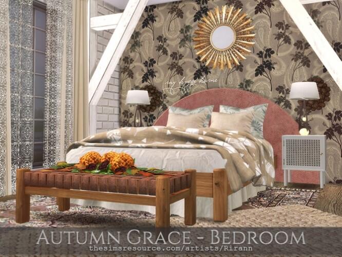 Autumn Grace Bedroom by Rirann